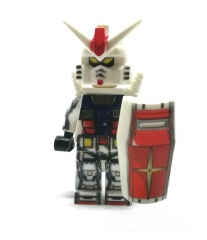 gundam-rx78-red-front